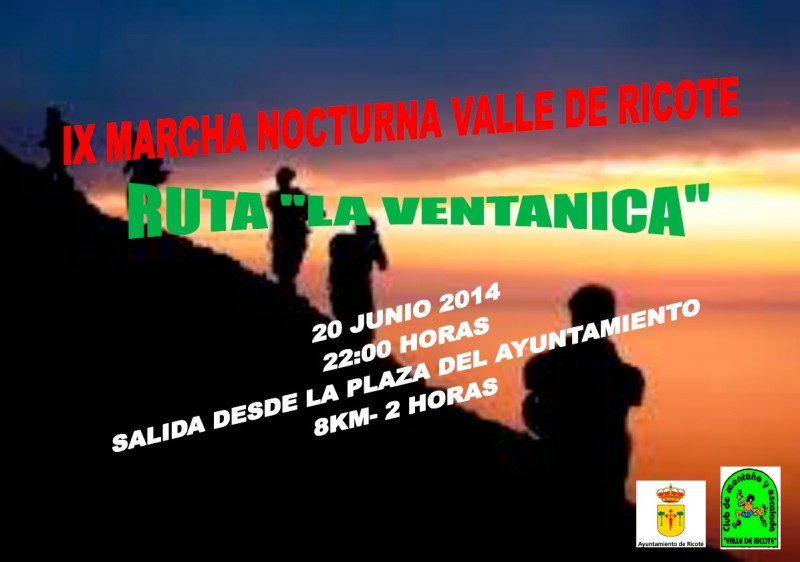 IX Marcha nocturna Valle de Ricote