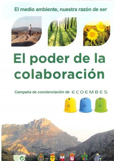 """CAMPAÑA DE ECOEMBES 2014 """"EL PODER DE LA COLABORACIÓN""""."""