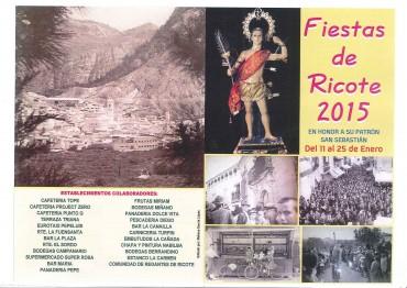 FIESTAS DE RICOTE 2015