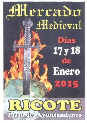 MERCADO MEDIEVAL 17 Y 18 DE ENERO DE 2015