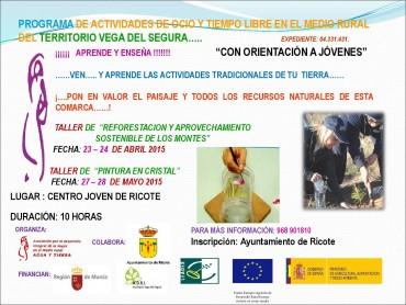 PROGRAMA DE ACTIVIDADES DE OCIO Y TIEMPO LIBRE CON ORIENTACIÓN A JÓVENES