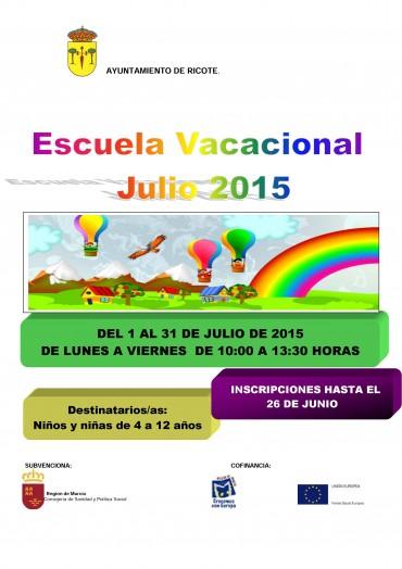 ESCUELA DE VERANO 2015