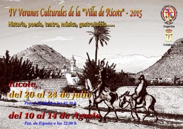 """Vuelven los """"Veranos culturales de la villa de Ricote"""""""