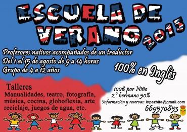 ESCUELA DE VERANO BILINGüE