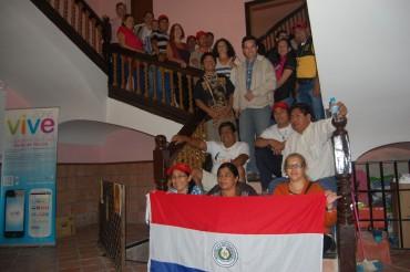 Visita de una delegación de Paraguay a Ricote y su huerta