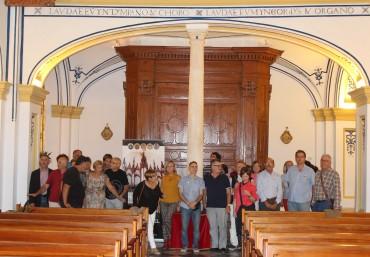 Visita de la asociación Merklin de amigos del órgano