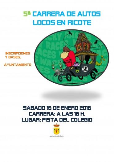 5ª CARRERA DE AUTOS LOCOS