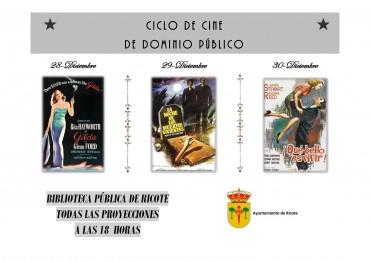 Ciclo de cine clásico en dominio público