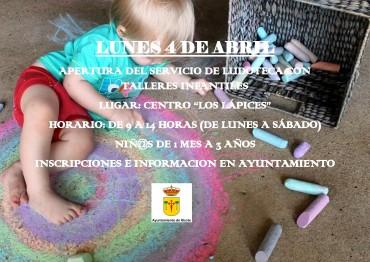 APERTURA DE LUDOTECA INFANTIL