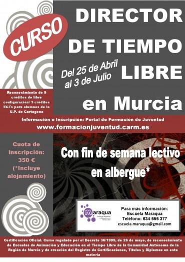 CURSO DIRECTOR DE TIEMPO LIBRE