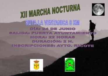 XII MARCHA NOCTURNA LA VENTANICA 8 KM. 2016