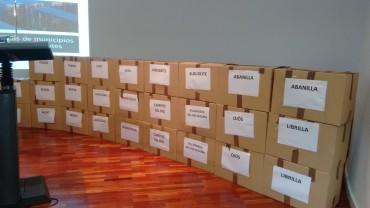 Lote de libros para la Biblioteca Municipal