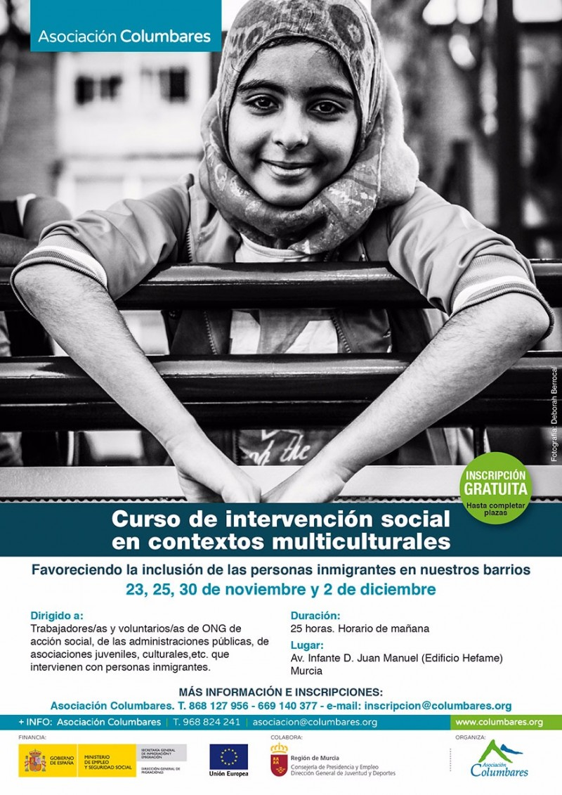 CURSO DE INTERVENCIÓN SOCIAL EN CONTEXTOS MULTICULTURALES