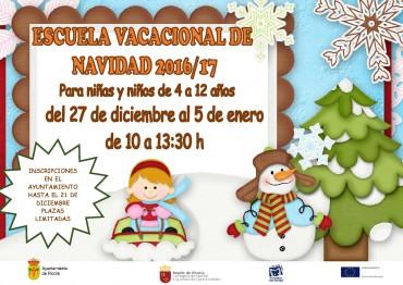 ESCUELA VACACIONAL DE NAVIDAD 2016-2017