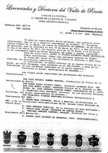 CURSO GRATUITO DE EJECUTIVO DE EMPRESA