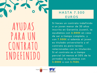 AYUDAS PARA UN CONTRATO INDEFINIDO / EMPRESAS