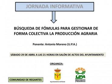 BÚSQUEDA DE FÓRMULAS PARA GESTIONAR DE FORMA COLECTIVA LA PRODUCCIÓN AGRARIA