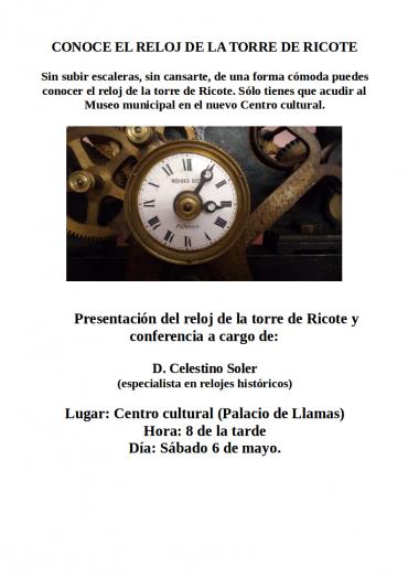 Conoce el reloj de la torre en el Museo municipal