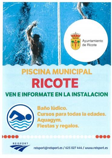 PISCINA MUNICIPAL DE RICOTE