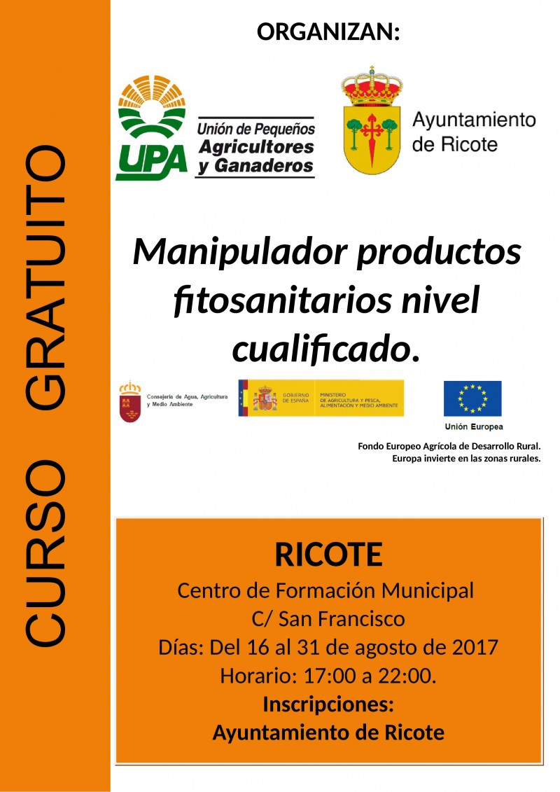 Cartel_Curso_CUALIFICADO_RICOTE_agosto_2017