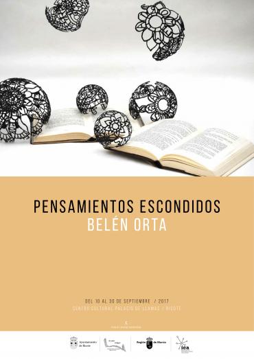 "Catálogo de la exposición ""Pensamientos escondidos"""