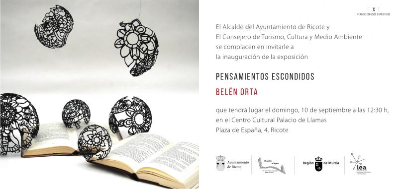 """Inauguración de la exposición """"Pensamientos escondidos"""" en el Centro cultural"""