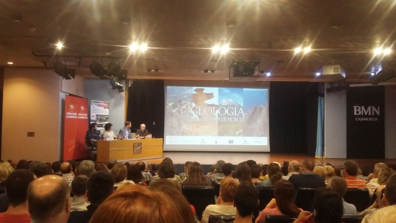 """Presentación de la serie documental """"Geología de la Región de Murcia"""""""