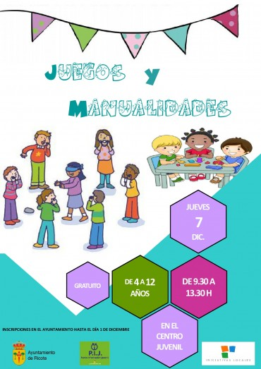 ACTIVIDADES DE OCIO PARA NIÑOS/AS