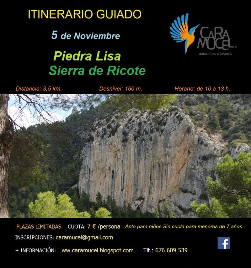 ITINERARIO GUIADO PIEDRA LISA-SIERRA DE RICOTE