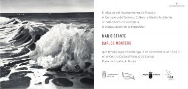 """Exposición """"Mar distante"""" de Carlos Montero en el Centro cultural"""