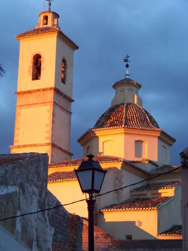 Nueva iluminación del templo parroquial