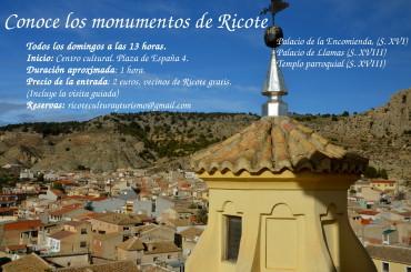 Conoce los monumentos de Ricote