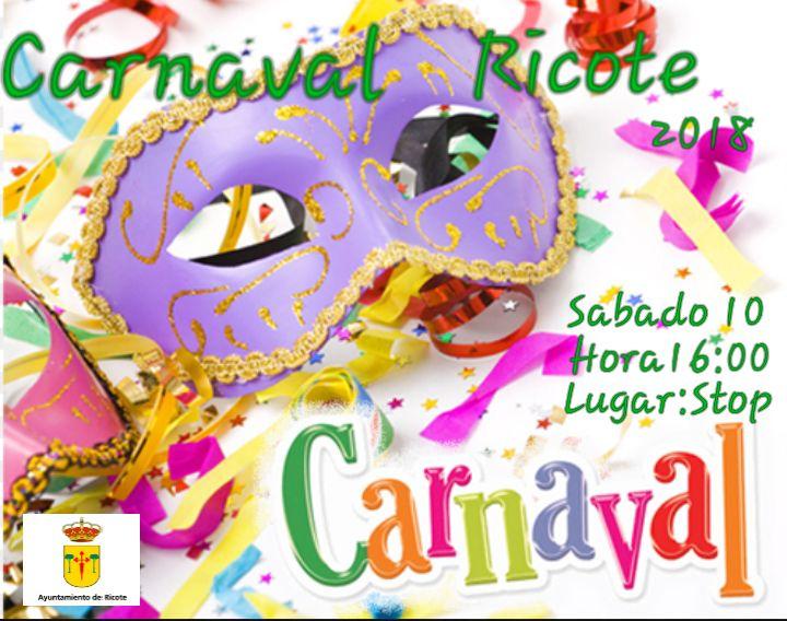 CARNAVAL DE  RICOTE 2018