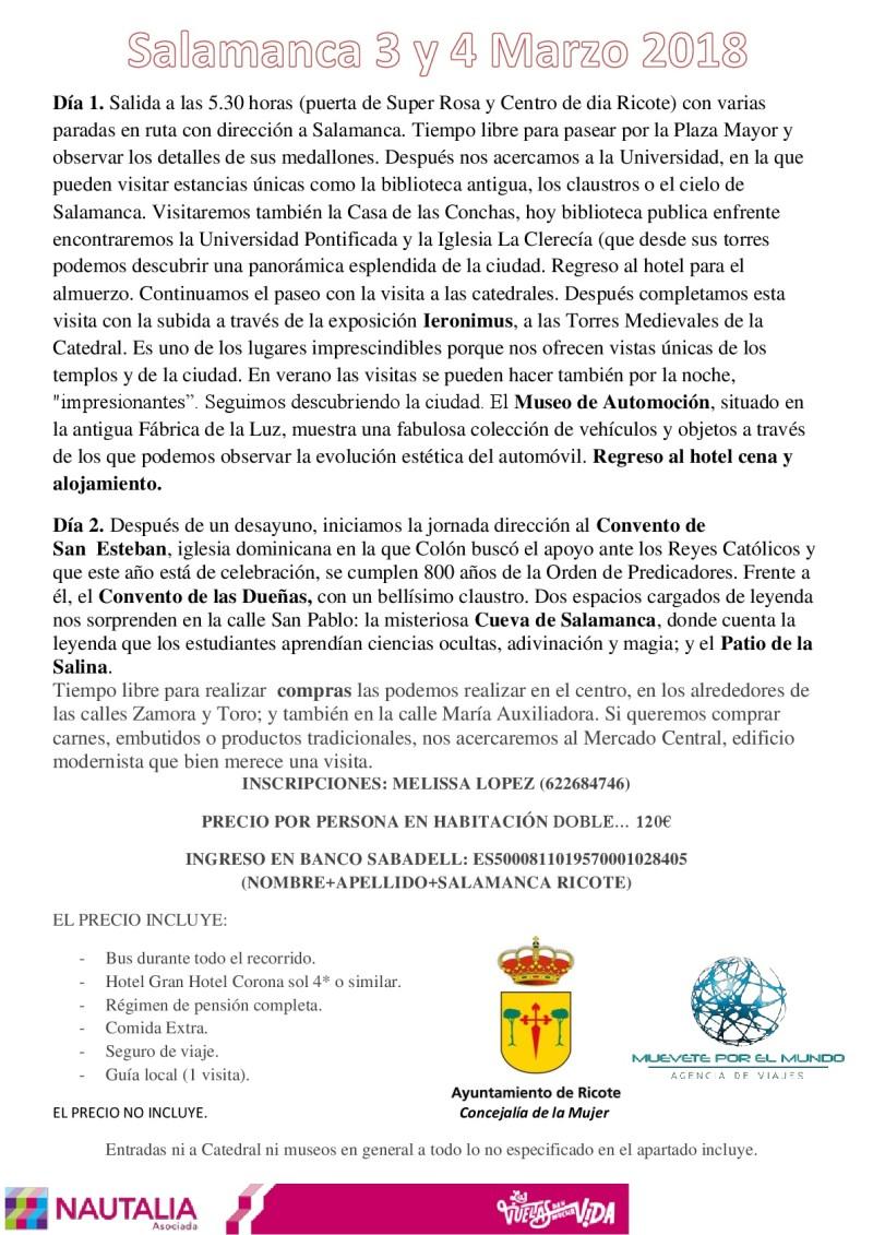 VIAJE DE LA MUJER 18-001