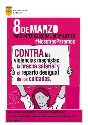 8 DE MARZO PARO INTERNACIONAL DE MUJERES