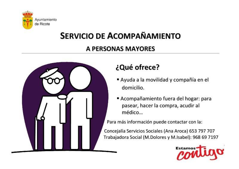 Cartel Servicio Acompañamiento Ricote-001
