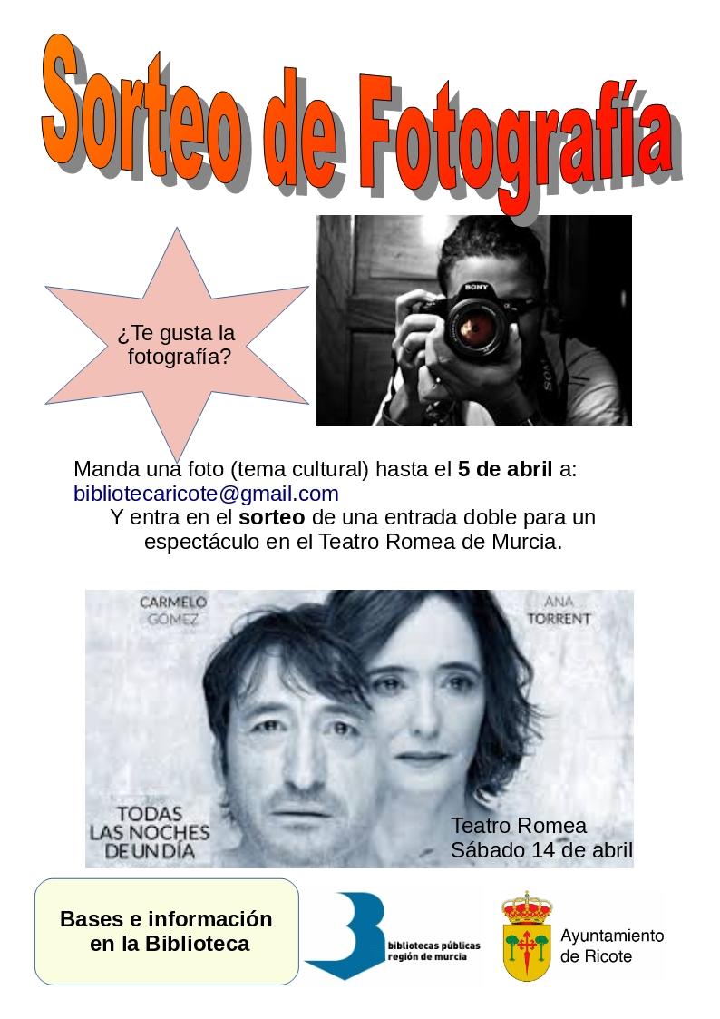 Concurso-Sorteo de Fotografía