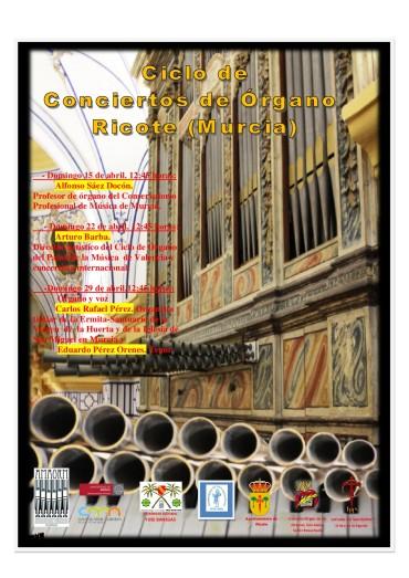 Último concierto del ciclo de música de órgano