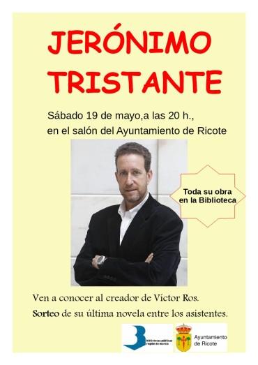 Conferencia de Jerónimo Tristante