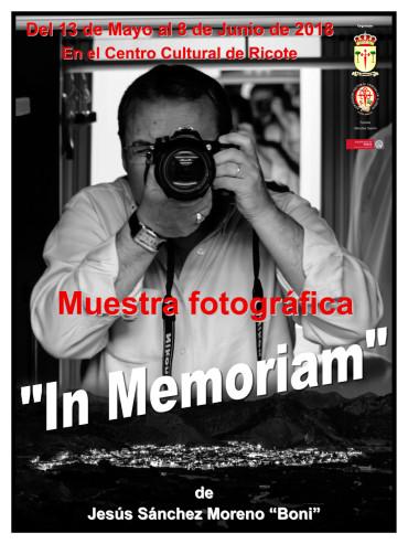Exposición de fotografía de Jesús Sánchez Moreno (Boni)