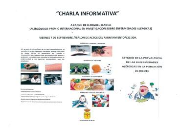 """""""ESTUDIO DE LA PREVALENCIA DE ENFERMEDADES ALÉRGICAS EN RICOTE"""""""
