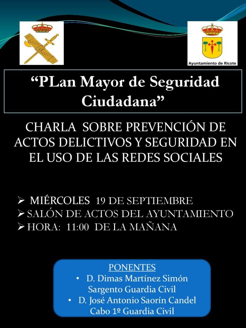 PLAN MAYOR DE SEGURIDAD CIUDADANA