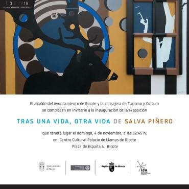 Exposición de Salva Piñero en el Centro cultural