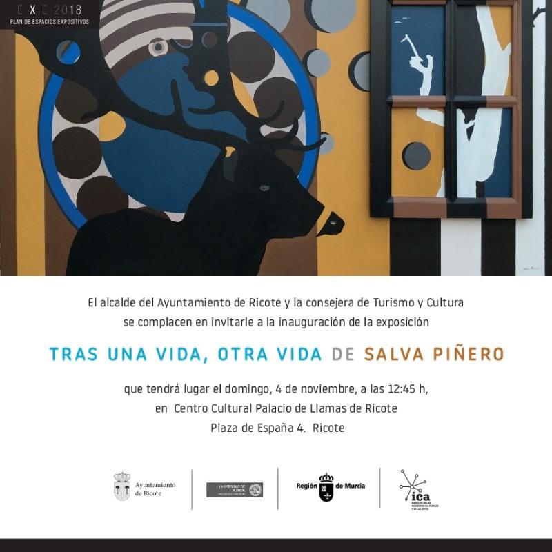 invitación Salva Piñero en Ricote OK-001