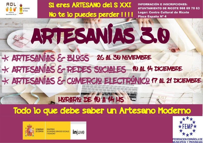 cartel artesania 3.0