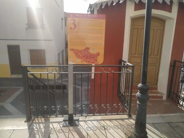 Nueva señalización de los principales monumentos de Ricote