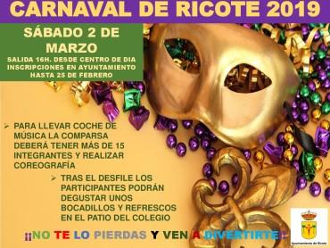 CARNAVAL DE RICOTE 2019