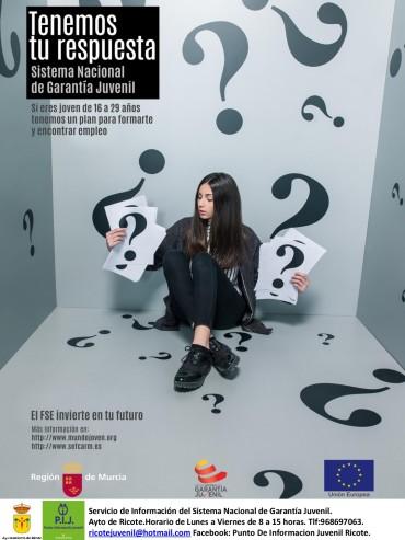 GARANTÍA JUVENIL RICOTE 2019
