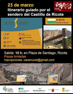 ITINERARIO GUIADO AL CASTILLO DE RICOTE