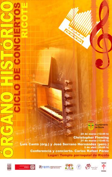 Ciclo de conciertos de órgano de Ricote